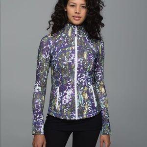 LULULEMON size 10 Define Jacket floral